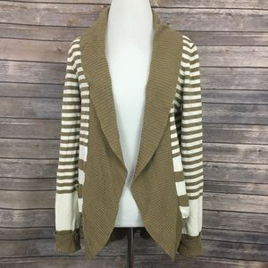 Urban outfitters Silence + Noise Striped Cardigan